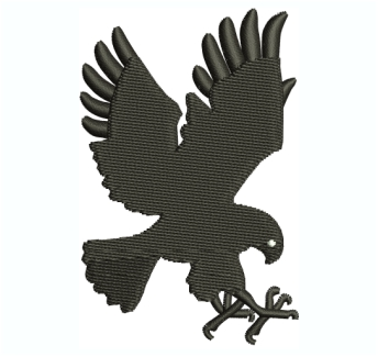 Hawk Embroidery Design