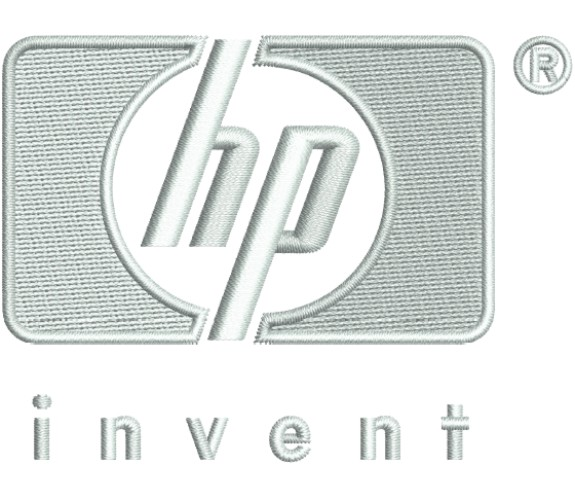 Hewlett Packard Logo Embroidery Designs