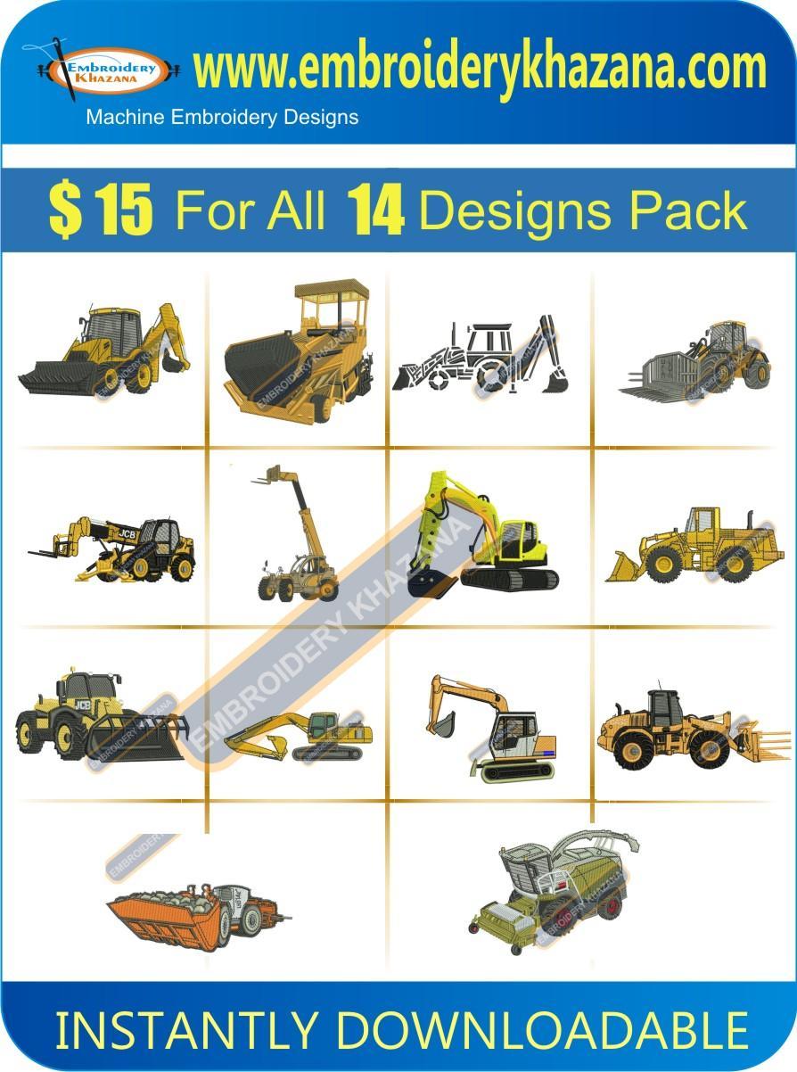 JCB Designs Pack