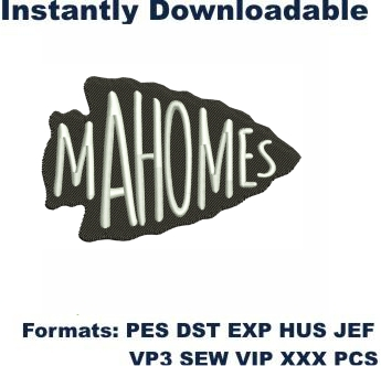 Kansas City Chiefs Mahomes Arrowhead Logo