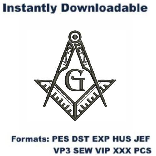Masons Symbol Embroidery Designs