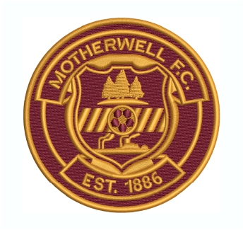 Motherwell FC logo Embroidery Design