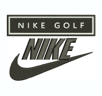 Nike Golf Logo Embroidery Design