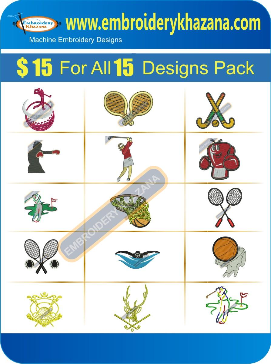 SPORTS DESIGNS PACK 2