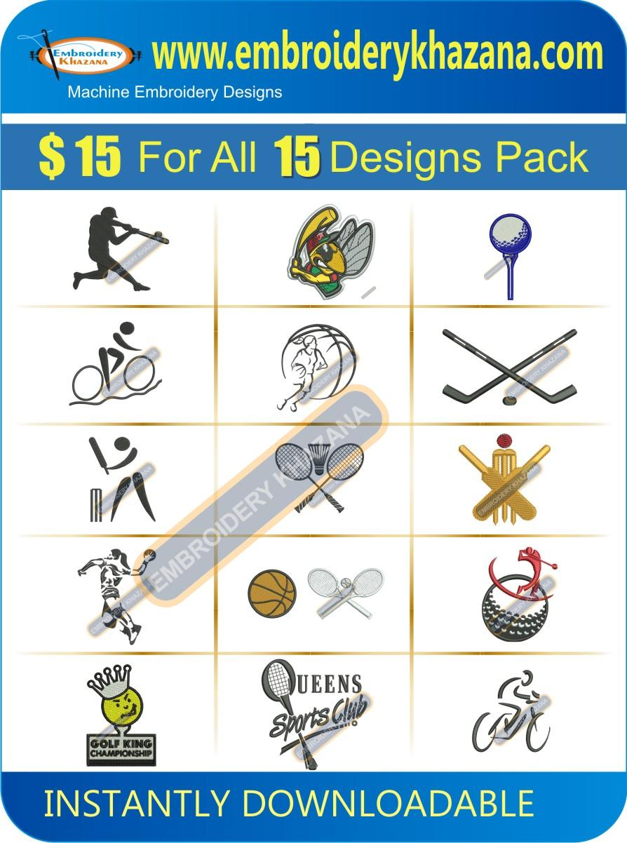 Sports Designs Pack 3