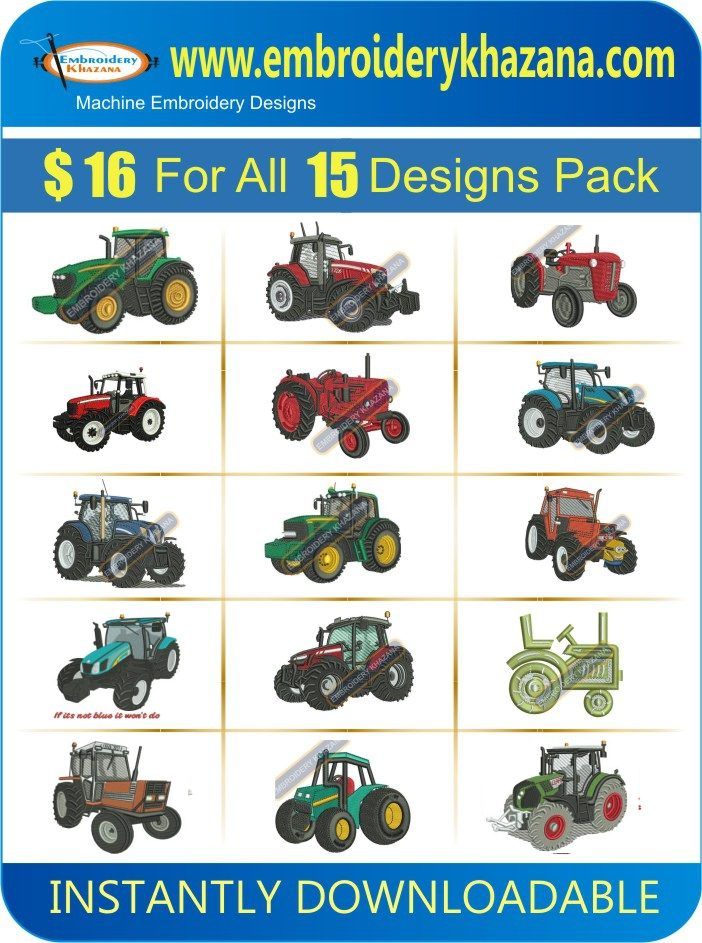Tractor Design Pack