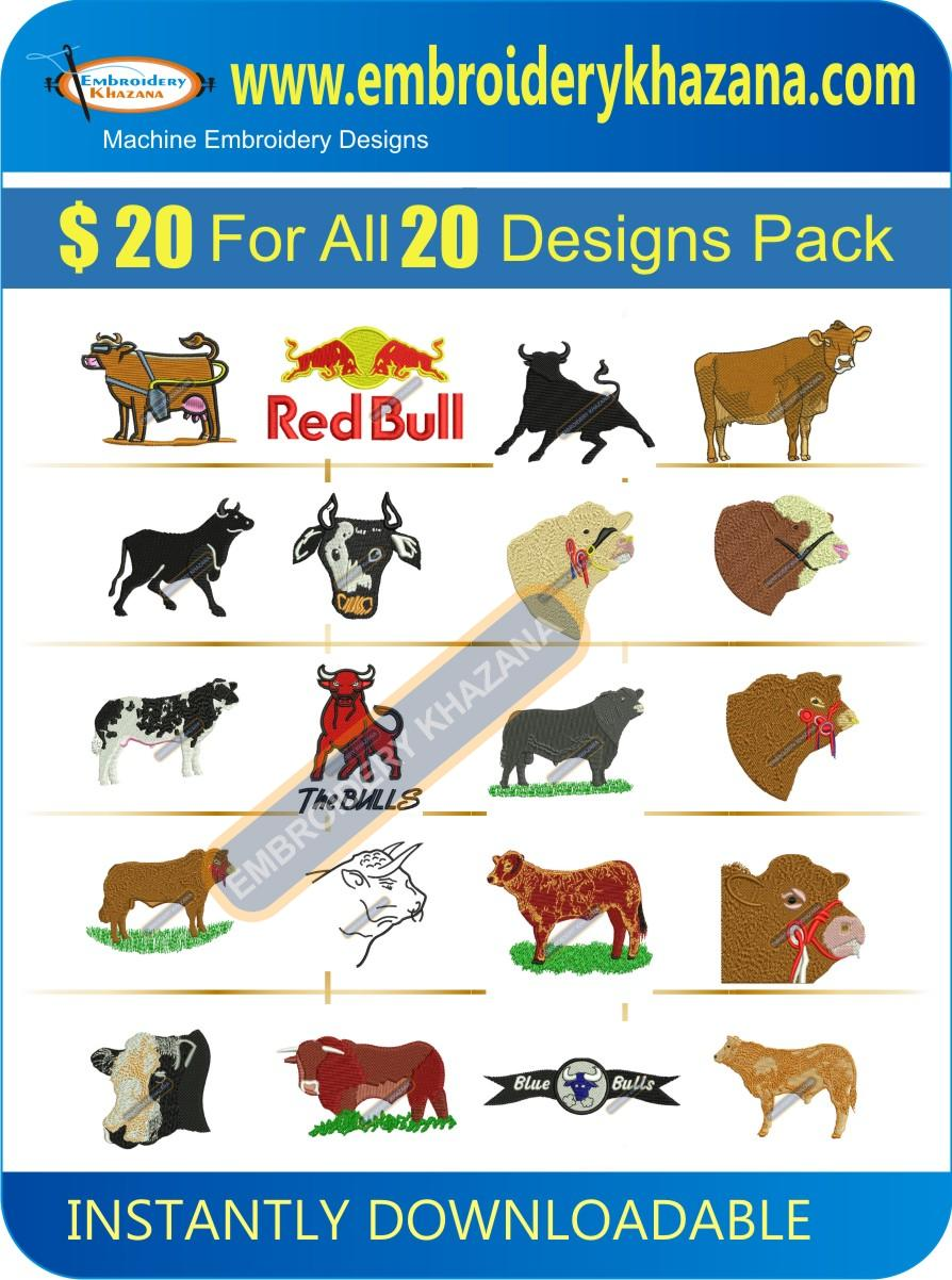 COW And BULL DESIGN PACK 2