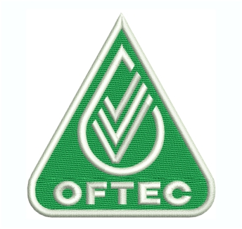 Oftec Logo Embroidery Design