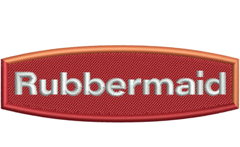 Rubbermaid Logo Embroidery Designs