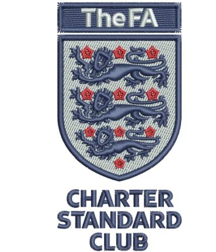 FA Charter Standard Club Logo Embroidery Designs