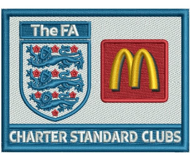 The Fa McD Logo Embroidery Designs