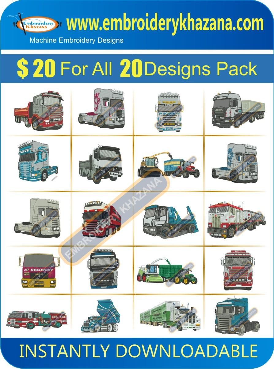 TRUCK DESIGNS PACK 2