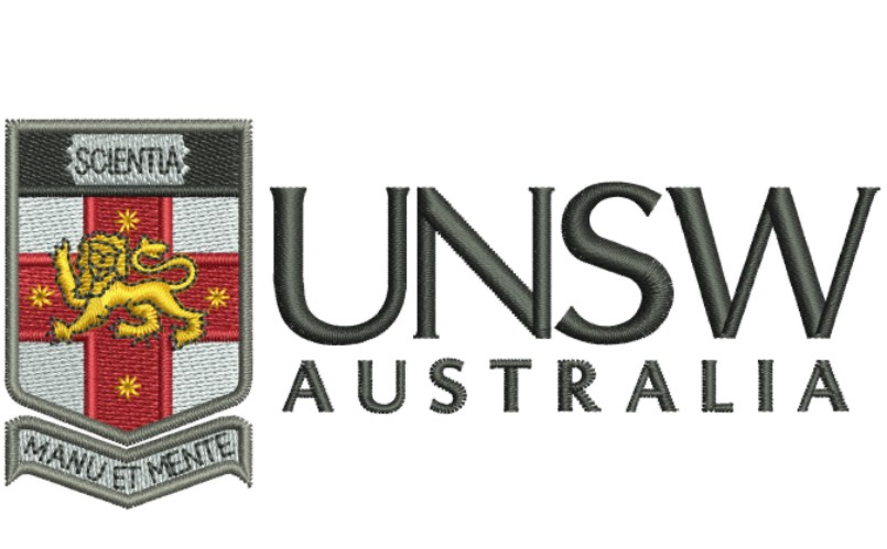 UNSW Australia Logo Embroidery Designs